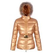 Doudoune Moncler Angers Femme Or